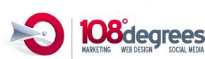 108 Degrees logo